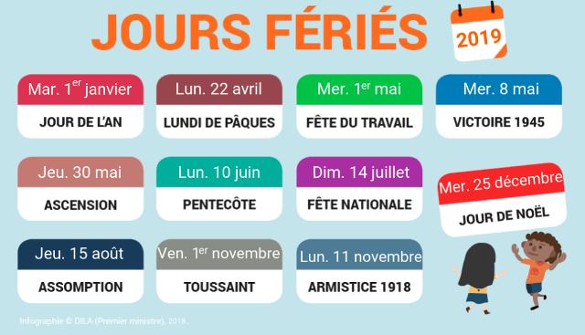 Días festivos en Francia