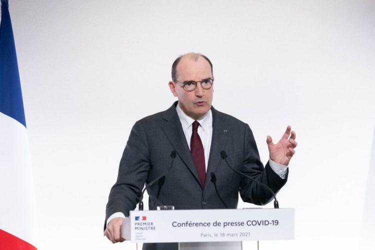 Jean Castex anuncia un nuevo confinamiento en Francia
