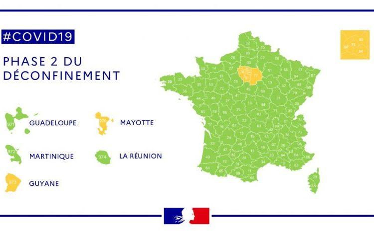 Desescalada en Francia, fase 2