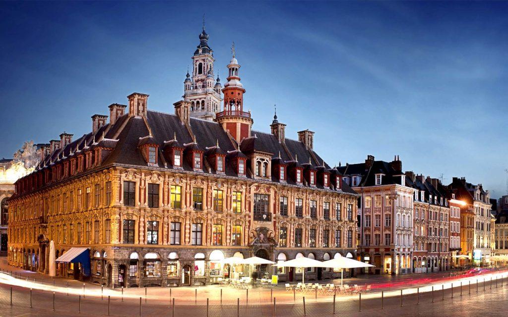 Cuidad de Lille en Francia