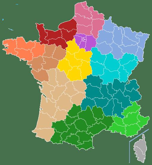 Las Regiones de Francia