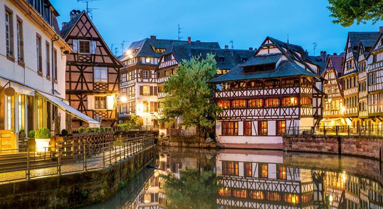 El barrio de la Pequeña Francia, Estrasburgo